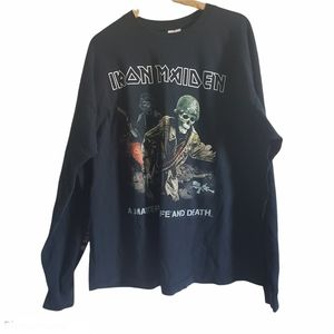 Iron Maiden 2007 Long Sleeve T Shirt Size 2XL